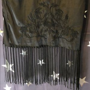 Black shawl or scarf to wear to a party